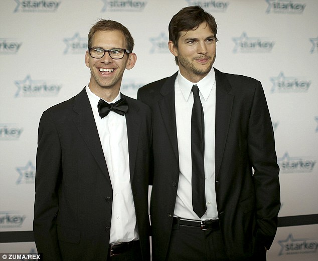Happy news: Now that Ashton Kutcher and Mila Kunis are engaged and expecting their first child together, the actor's twin brother Michael (pictured together last year) has insisted the loved-up couple were always destined to be together