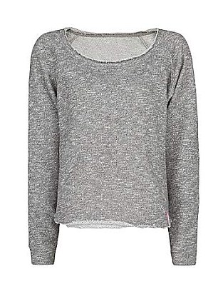 Mango Relaxed plush sweatshirt, £19.99, Houseoffraser.co.uk