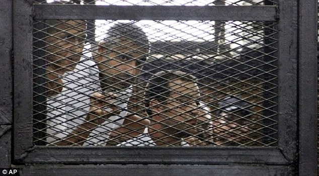 Greste, along with his two other Al Jazeera English colleagues Mohammed Fahmy and Baher Mohammed, was sentenced to seven years in jail after he was found guilty of fabricating footage to undermine Egypt's political situation