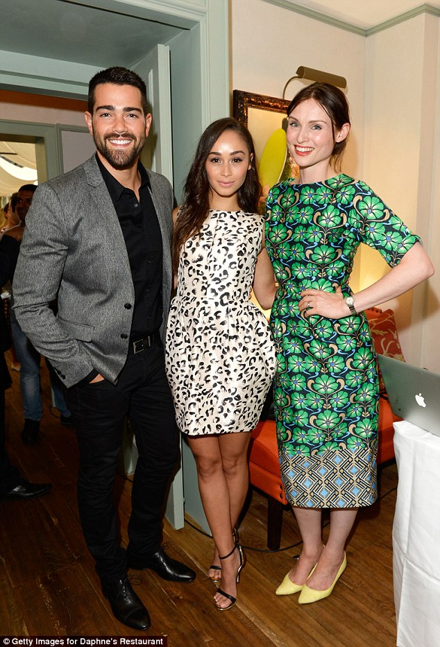 Hey good looking: (L-R) Jesse, Cara and Sophie all posed for quick snap together