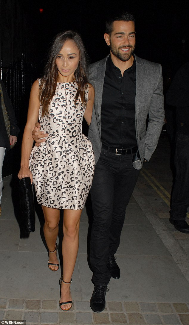 They can't keep their hands off one another: Later that evening, the pair headed to Chiltern Firehouse