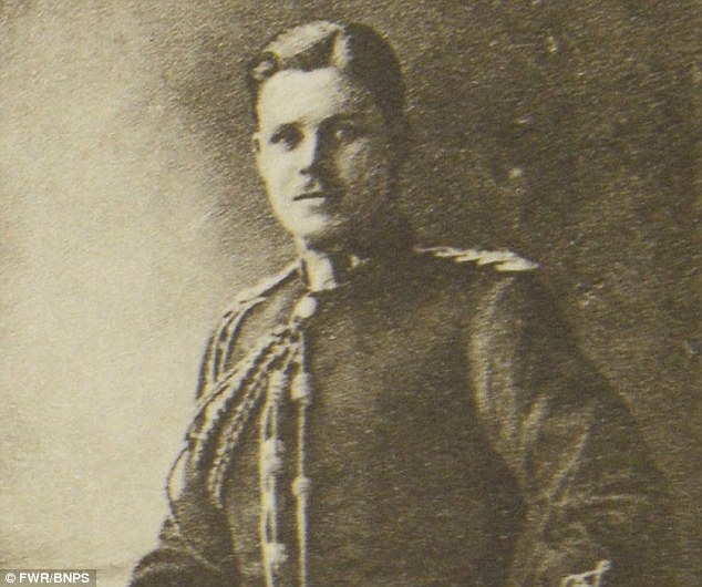 Real-life George: Cambridge-educated Lt Athelstan Key Durance George was a descendant of William the Conqueror