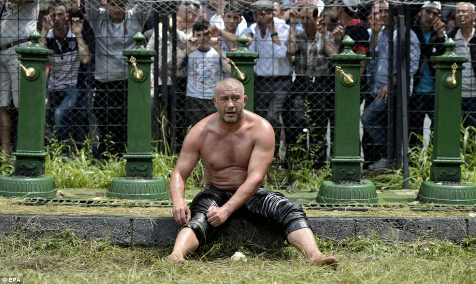 Around 1,000 fighters of all ages, nationalities and builds take part in the competition to be named Chief Pehlivan