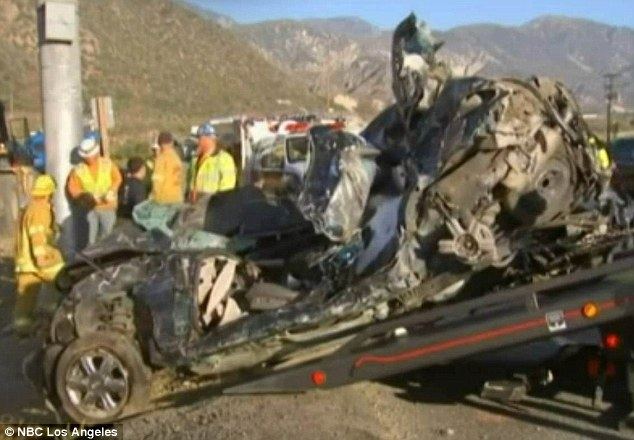 Lyle, Cabrera and three male friends were driving in a PT Cruiser on Highway 138 when the truck hit them and crushed the car