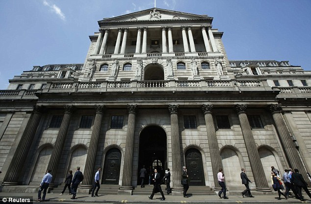 Imposing: The Bank of England is expected to make recommendations to cool the housing market