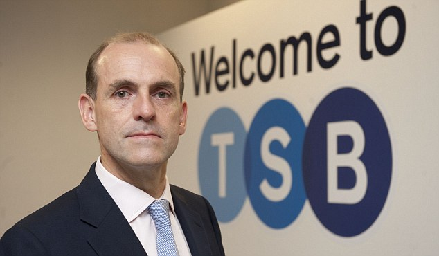 Stock market listing: TSB chief executive Paul Pester hailed 'another great milestone' for the bank