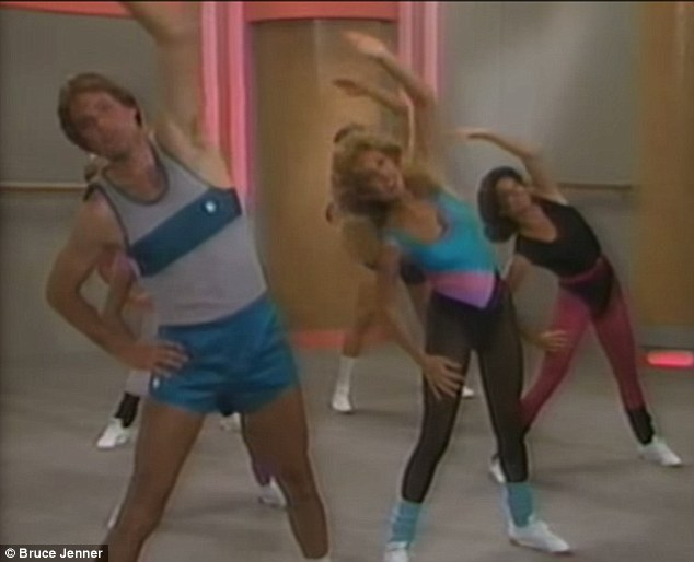 Back in the day: Bruce Jenner previously made these interesting aerobics videos with his former wife Linda Thompson