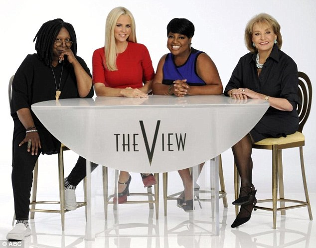 Whoopi is staying: Last week, Rob Shuter of VH1's The Gossip Show said Bethenny was 'at the top of the list' to replace hosts Jenny McCarthy, Sherri Shepherd, or Barbara Walters on ABC's The View