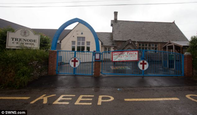 Devon and Cornwall Police said that, as a result of the manhunt, the nearby Trenode Church of England Primary School has been closed as a precaution
