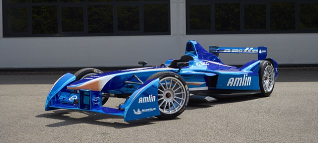 Cutting edge technology: Formula E cars accelerate from 0-100km/h in under three seconds and will reach speeds of up to 225km/h