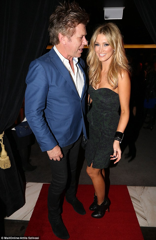 Me, myself and I! Delta Goodrem told the Daily Mail Australia at Richard Wilkins' 60th birthday bash at The Star, Sydney, on Friday night that she was enjoying being single
