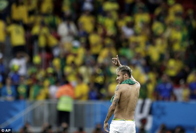 Nation expects: Neymar is the hero of millions as Brazil seek to win the World Cup on home soil