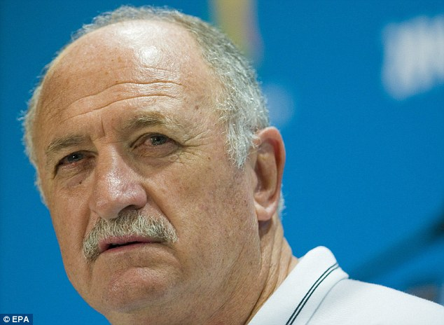 Top boss: Scolari has transformed Brazil but Chile pose the toughest test he has faced so far