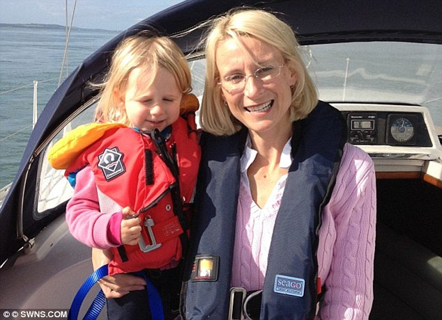 Sienna, pictured with mother Mrs Brown, was 'never the best-behaved child in the world' - but she struggled to adapt to life at sea