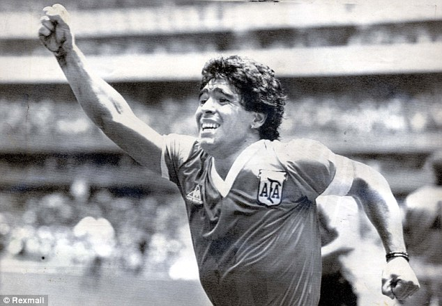 Troubled time: Maradona is one of the most divisive footballers ever to grace the world stage