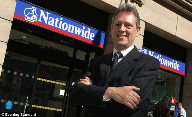 Nice work if you can get it: In the last financial year, Nationwide boss Graham Beale received £2,571,000