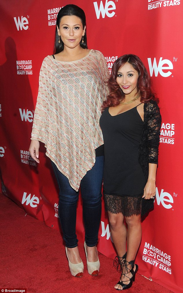 Guest judges: The pair will star alongside Alyssa Milano on the judging panel for the upcoming season 13 of Project Runway. Seen here at the Marriage Boot Camp launch party on May 29