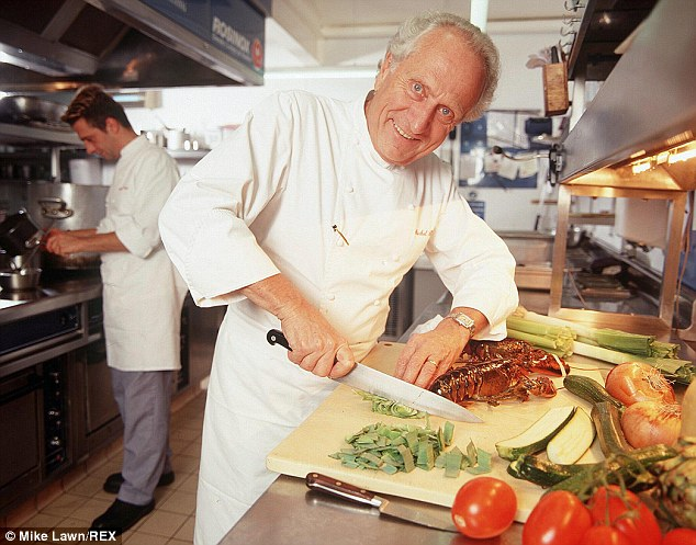 Warning: Michel Roux says that France's culinary scene is in decline thanks to employment laws