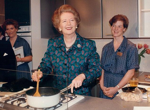 Saviour: Mr Roux says that Margaret Thatcher's refusal to introduce legislation rescued British restaurants