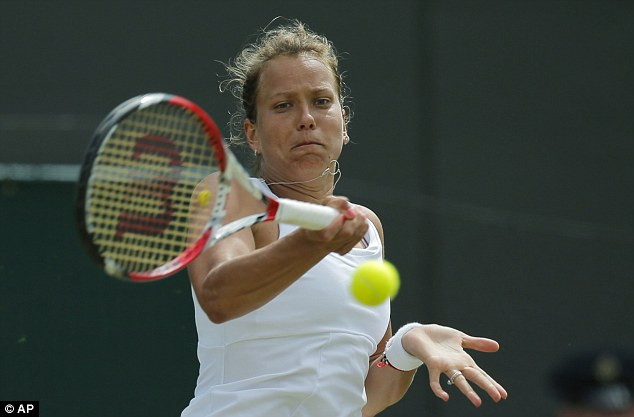 Next hurdle: Barbora Zahlavova Strycova stand between Wozniacki and the Wimbledon milestone