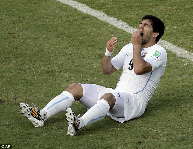 Loose cannon: Suarez should make the most of the help available through the PFA and Sporting Chance Clinic