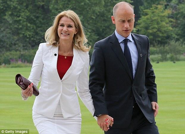 Stephen Kinnock and wife Helle Thorning-Schmidt