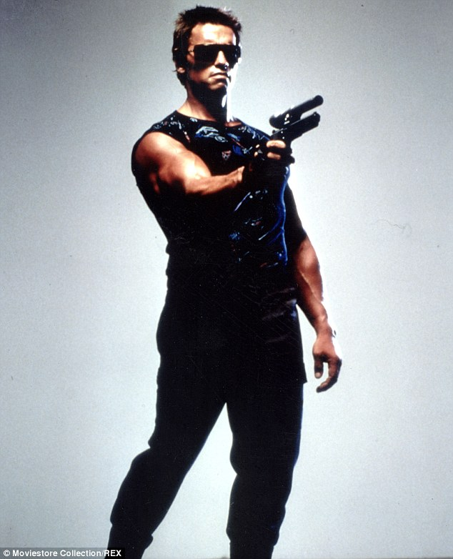 I'll be back! The actor is currently filming the fifth installment of the Terminator series in New Orleans