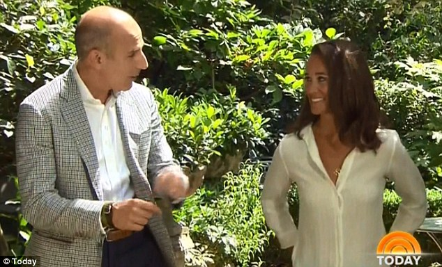 Matt Lauer spoke with Pippa Middleton about life after the Royal Wedding and how she copes with the constant attention