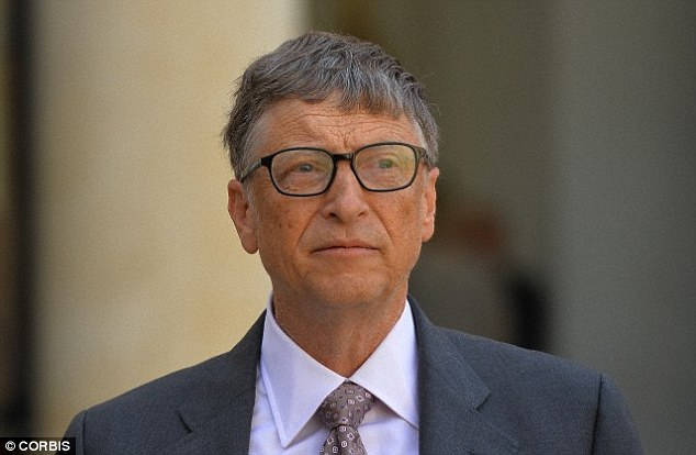 Nearsighted people, such as Microsoft founder Bill Gates, have blurred vision beyond 6.6ft (2 metres). It is usually caused by an elongation of the eyeball when people are young