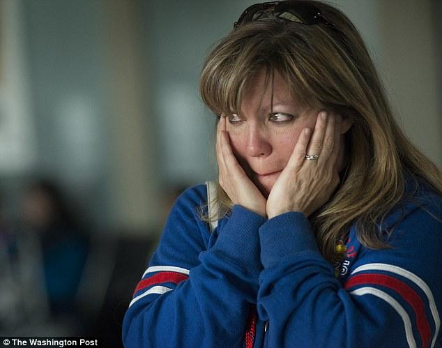 American wife Madina Salaty tears up after saying goodbye to her husband Bangladesh-born Zunu Zunaid (NP) who was just deported