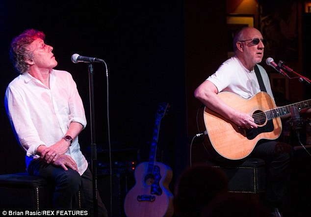 The Who frontman, 70, admitted he struggled to understand why modern gig-goers spent so little time watching the show