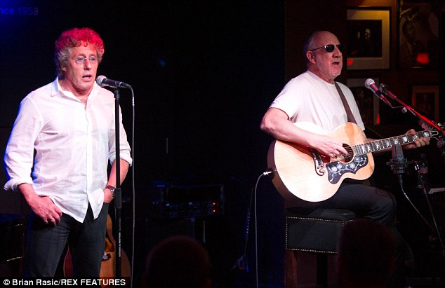 Music fans who go to concerts only to spend half their time filming on their mobile phones are 'weird' Roger Daltrey has said, as he and The Who guitarist Pete Townshend were launching the band's 50th anniversary tour