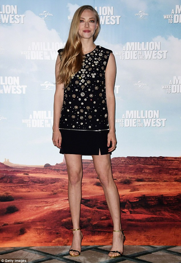 Gone glam: She ramped up the glam for the premiere of A Million Ways To Die In The West back in May