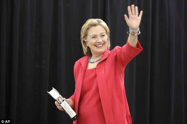 Memoir: Hillary Clinton has been doing the rounds on a press tour of her new book Hard Choices. She says she has 'moved on' from the Lewinsky scandal