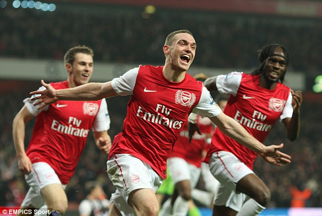 Moving on: Vermaelen has been at Arsenal since 2009