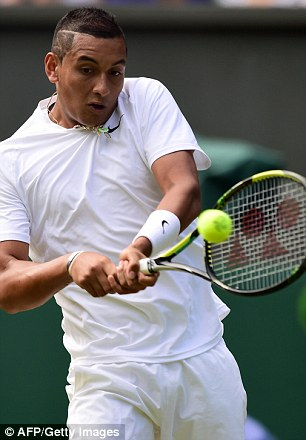 Australian Nick Kyrgios (left)  is going head-to-head with world number one Rafael Nadal (right) from Spain in what will no doubt the match of Kyrgios's career