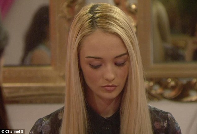 Unrepentant: But Ashleigh admitted she still wanted him gone