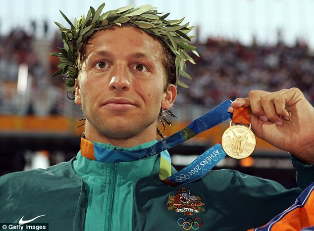Superhuman! Known as the the Thorpedo during his stellar career, Thorpe smashed 22 world records and along the way won five gold, three silver and one bronze Olympic medals