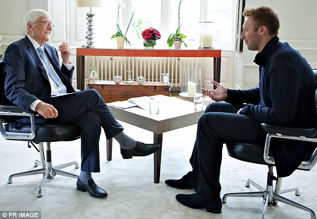 'Are you gay?' No question was off-limits for British journalist Michael Parkinson when he sat down with former Olympic swimmer Ian Thorpe for an interview that went to air Sunday night.