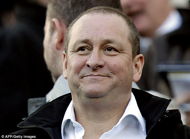 Ashley happy? Sports Direct said 40 per cent of its shareholders voted against the group's controversial scheme, that will see founder Mike Ashley awarded a £200million bonus but with more than half voting in favour the resolution was passed.