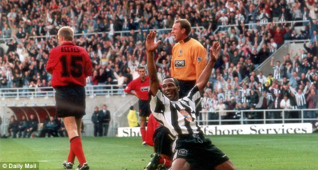 Prolific: Les Ferdinand's goals earned him a move to Newcastle and £600,000 for his former club Hayes