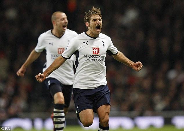 Cashing in: David Bentley's move to Tottenham earned Arsenal £7million due to a 50 per cent sell-on clause