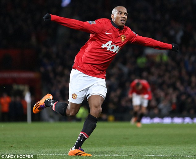 Wise move: Watford pocketed £2.5million after Ashley Young left Aston Villa for Manchester United in 2011