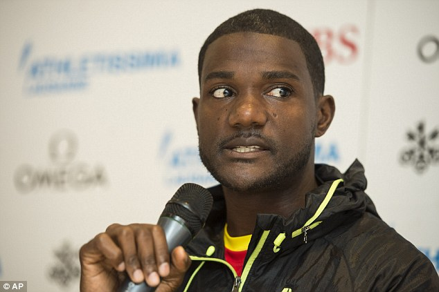 Speaking from experience: Justin Gatlin was banned for four years for using performance-enhancing drugs