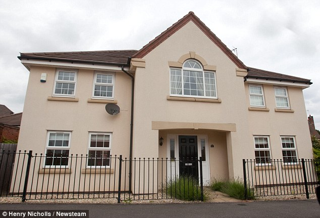 Home: Mr Burgess, who lives in this £475,000 detached house in Coventry, is now believed to have secured a taxpayer-funded pension lump sum worth more than £350,000
