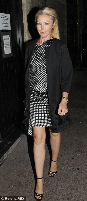 Hotspot: Topshop owner Sir Phillip Green and Tamara Beckwith were also seen at the London hotspot