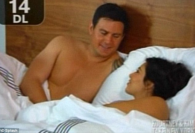 Flashback: Shengo sharing a bed with Kim back in 2011 in Kourtney & Kim Take New York