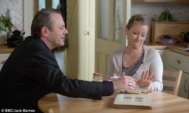 Troubles: Bianca has had a tough time of it of late after her mother Carol Jackson (Lindsey Coulson) was diagnosed with cancer and her father David Wicks (Michael French) suffered a heart attack and then left Walford