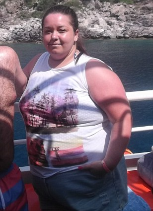 Before the weight loss
