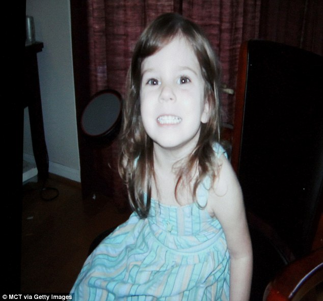 Gone: Caylee's remains were discovered in woodland close to the family home several months after the little girl went missing